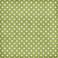 paper dots green
