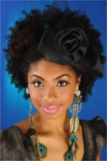 get creative with your curly fro!