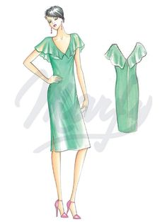 The Marfy hand made pre-cut sewing pattern :: Marfy Collection 2016/2017 :: Sewing pattern 3905 -