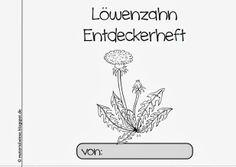 materialwiese: NEU: Löwenzahn Entdeckerheft