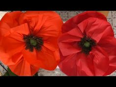 Moola Aziz shared a video Crepe Paper Flowers Tutorial, Crepe Paper Roses, Tissue Flowers, Paper Flowers Craft, Giant Paper Flowers, May Flowers, Flower Crafts, Paper Crafts, Paper Decorations