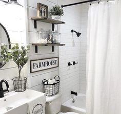 Bathroom ideas, decorating the restroom, master bathroom decor and signs Bathroom Renos, Bathroom Wall Decor, Bathroom Signs, Bathroom Styling, Modern Bathroom, Bathroom Ideas, Boho Bathroom, Remodel Bathroom, Bathroom Interior