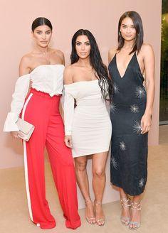 "Whole the Women at Kim Kardashian's ""KKW Beauty"" Launch Party"