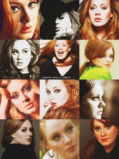 Adele, again. My god, she is gorgeous.