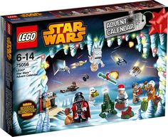 Spend the festive period on icy planet Hoth with the LEGO Star Wars Advent Calendar! Open up a door each December day to reveal a cool Star Wars themed gift, Lego Star Wars, Disney Star Wars, Lego Batman, Lego Marvel, Spiderman, Starwars Lego, Lego Shop, Buy Lego, Toys R Us