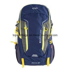 Polyester Waterproof School Hiking Travel Sport Outdoor Backpack Bag