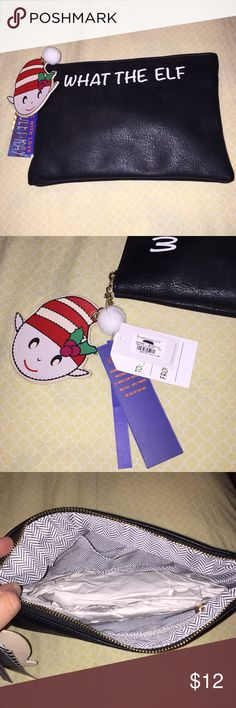 """🎅🏻""""What the Elf"""" pouch NEW """"What the Elf"""" pouch Francesca's Collections Bags"""