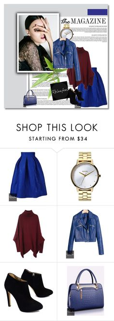 """""""Relaxfeel 17"""" by ajsajunuzovic ❤ liked on Polyvore featuring Relaxfeel, Nixon and Giuseppe Zanotti"""