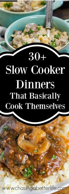 30+ Slow Cooker Dinners That Basically Cook Themselves
