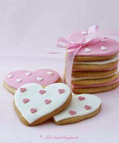 Heart Cookies / Herz-Kekse