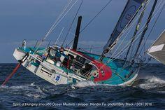 Spirit of Hungary - skipper Nándor Fa - Vendée Globe 2016