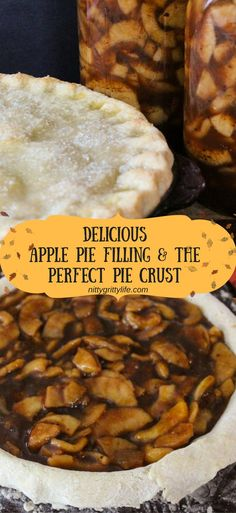 Preserve the bounty of autumn apples by canning this delicious apple pie filling recipe. Also, make the perfect pastry crust for a mouthwatering pie! Makes three quarts.