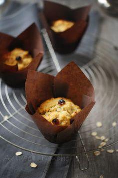 muffins-banane-flocons-d-avoine お砂糖半分 レーズン30g 全部大豆粉 半分全粒粉でもいいかも。 スコーンみたいでおいしい。 朝食向き