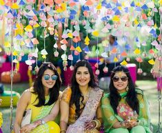 """And in these live videos, one of the most asked questions is that, """"what are the coolest, trendiest and super-easy ideas for diy mehendi decor? Crafts For Teens, Crafts To Sell, Diy And Crafts, Over The Top, Diy Videos, Craft Videos, Diy Plants, Craft Wedding, Diy Wedding"""