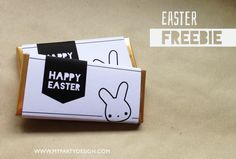 Bunny Party, Easter Party, I Party, Party Favors, Printable Activities For Kids, Party Printables, Free Printables, Chocolate Easter Bunny