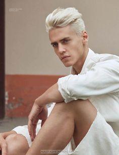 Male Fashion Trends: Oliver Stummvoll por Greg Swales para DAMAN Magazine