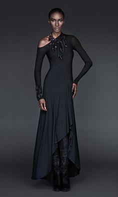 The Evolution collection, Donna Karan. Beautiful dress design.
