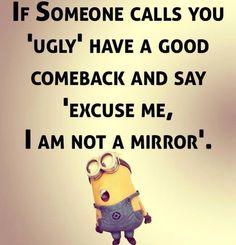 I am not a mirror
