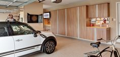 When's the last time you parked a car in your garage? Let NOLA Closets handle your organizational needs to get you the garage of your dreams. We're so much more than closets! Garage Cabinet Systems, Garage Storage Systems, Garage Cabinets, Storage Organization, Sports Equipment Storage, Tool Workbench, Garage Floor Coatings, Garage Shed, Custom Garages