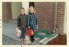 "First Day of School 1967 - Monkees and Charlie Brown ""Peanuts"" lunchboxes"