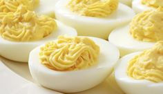 Classic Deviled Eggs recipe from England's Best. I add about a tablespoon or two of sweet relish to the mixture. This is a must-make for cookouts and barbecues! #EBEggs #ad #MemorialDay