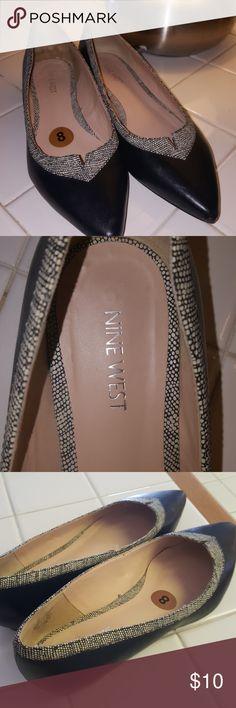 Nine West Flats Cute flats lightly worn Nine West Shoes Flats & Loafers