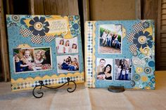 scrapbook layouts using stripe paper kiwi lane - Yahoo Search Results Image Search Results Scrapbook Borders, Scrapbook Designs, Scrapbook Sketches, Scrapbook Page Layouts, Scrapbook Cards, Photo Layouts, Baby Scrapbook, Kiwi Lane Designs, Wedding Scrapbook
