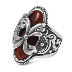 Sterling Silver Southwestern Changeable Agate Ring (Jewelry)  postteenageliving...