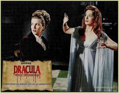 HAMMER FILMS PRESENTATION CARDS: DRACULA PRINCE OF DARKNESS The Black Box Club