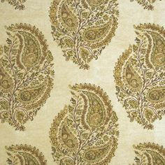 Huge savings on Kasmir products. Free shipping! Find thousands of luxury patterns. Strictly 1st Quality. Item KM-PASHMINA-PAISLEY-CREAM. Sold by the yard.