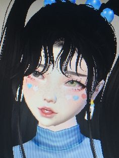 Find images and videos about cute, blue and heart on We Heart It - the app to get lost in what you love. Princesa Emo, Emo Princess, Virtual Girl, Avakin Life, Gothic Anime, Goth Aesthetic, Digital Art Girl, Cybergoth, Cute Icons