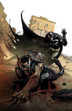 Batman vs. Batwing - BATWING #19