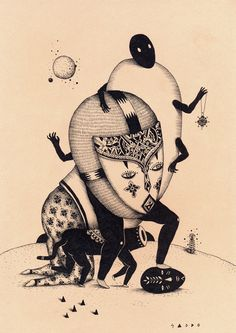 Drawings - Saddo