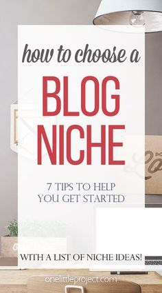 Are you wondering how to choose a blogging niche? Don't let it stress you out! This post has tons of awesome tips and niche ideas to help you get started!
