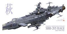 space battleship designs | In-Progress: EDF Super-Battleship Electra - Resin Illuminati
