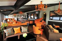 For those orange fiends out there... Decor Ideas to Steal from CA's Hottest Restaurants | California Home + Design