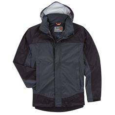 Tactical Tac Dry Rain Shell Mens Jacket - Dark Navy All Sizes X Large for sale online Nike Jacket, Rain Jacket, 5.11 Tactical Series, Hunting Jackets, Tactical Clothing, Dark Navy, Motorcycle Jacket, Windbreaker, Shell