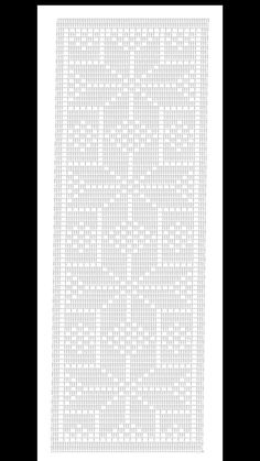 Crochet Carpet, Crochet Home, Knit Crochet, Crochet Doilies, Crochet Stitches, Crochet Designs, Crochet Patterns, Crochet Table Runner Pattern, Fillet Crochet