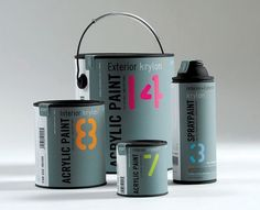 Paint Packaging by Matthew Wakeman