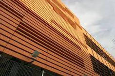 terracotta rainscreen texture - Google Search Cinema Architecture, Terracotta, Facade, Blinds, Skyscraper, Multi Story Building, Boston, Image, Texture