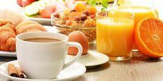 Frühstücken Sie jeden Morgen ausgiebig und reichhaltig