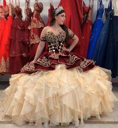 Blue Ball Gowns, Ball Gown Dresses, 15 Dresses, Short Dresses, Formal Dresses, Mexican Quinceanera Dresses, Mariachi Quinceanera Dress, Burgundy Quinceanera Dresses, Charro Dresses
