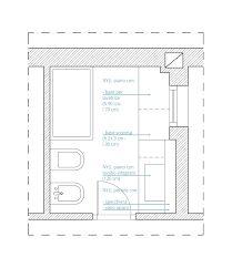 progetto bagno 4 mq quadrato - Cerca con Google | bagno ...