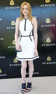 Downton Downstairs...Laura Carmichael at  St. Regis International polo Cup at Cowdray Park, May 16 2015. ..