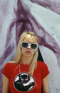 Kim Gordon singer and bassist with American band Sonic Youth in New York City on June Get premium, high resolution news photos at Getty Images Kim Gordon, Celebrity Sunglasses, Trending Sunglasses, 90s Fashion, Retro Fashion, Fashion History, Sonic, Grunge, Riot Grrrl
