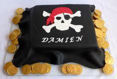 Piraten-Flagge Kuchen