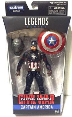 Marvel Legends Civil War BAF Giantman Captain America Action Figure #Marvel