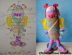 Artist Wendy Tsao Transforms Kids Drawings Into Adorable Plush Toys
