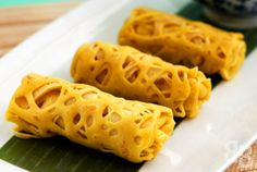 ROTI JALA (crepe-like batter made to form net patterns and served to be enjoyed with rich gravy dishes) [Malaysia]