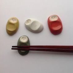 はしおき ベビー 4色セット② (レッド、深い深緑、明るいマスタード、ミルクホワイト)|aopota